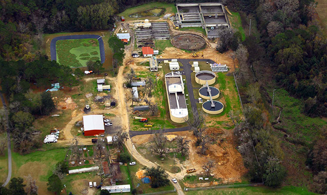 City's Advanced Waste Water Treatment Plant