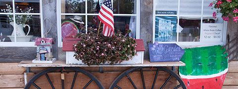 Small town business storefront - Jefferson County Florida, Jefferson County, FL
