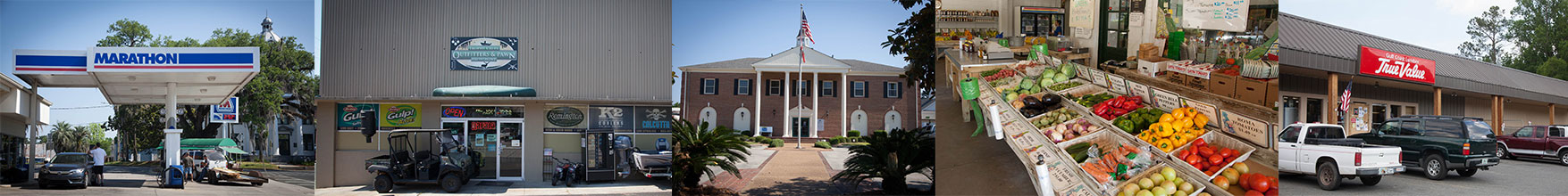 Small town retail businesses - Jefferson County Florida, Jefferson County, FL